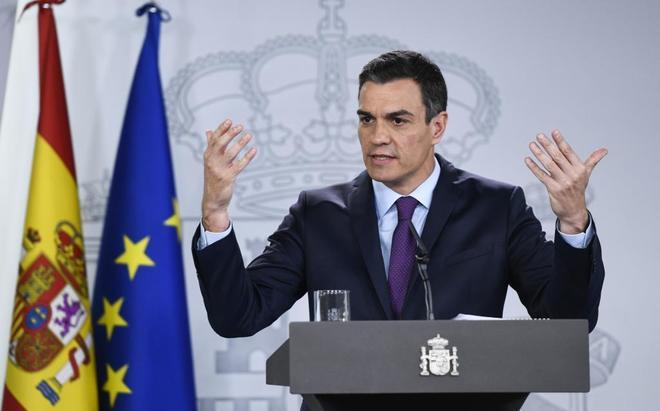 El presidente del Gobierno, Pedro Sánchez..