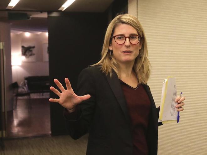La consellera de la Presidencia Elsa Artadi