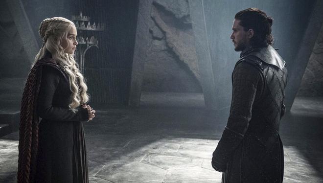 Imagen de la octava temporada de 'Juego de tronos'.