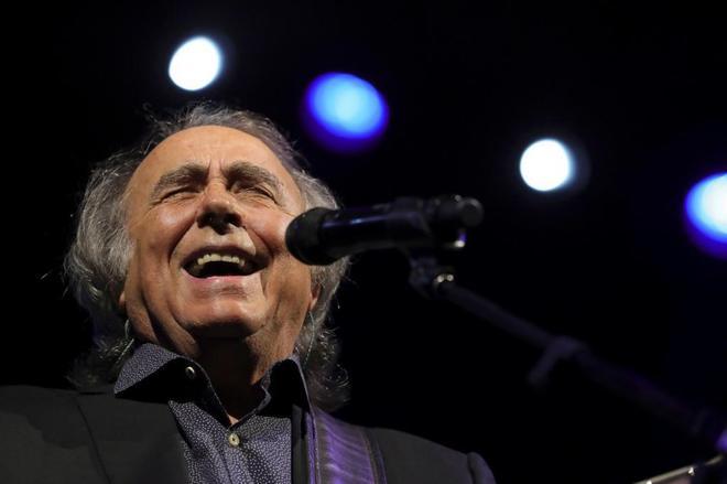 El músico Joan Manuel Serrat.