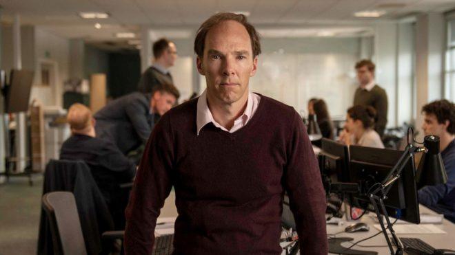 El actor, caracterizado como el impulsor de la campaña del Brexit, en un fotograma de la película.