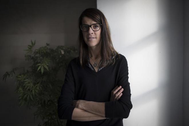 La medallista olímpica y candidata del PP en Cantabria, Ruth Beitia