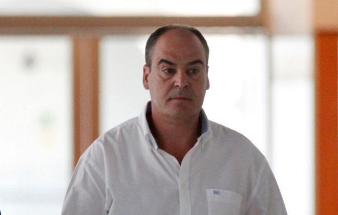 El ex director de Trabajo, Juan Márquez, a su llegada para declarar por los ERE