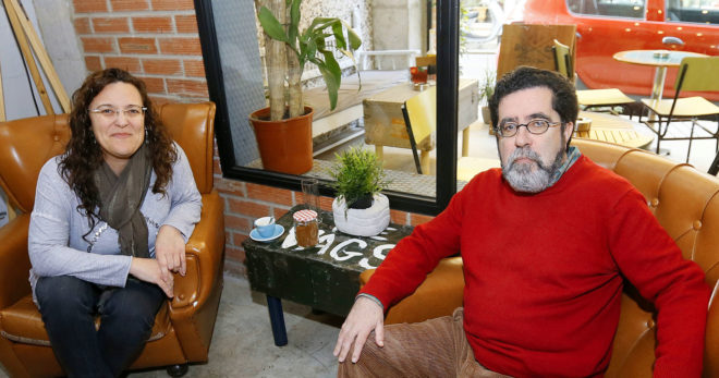 Esther Abellán y Mariano Sánchez presentan el jueves en Ochenta Mundos sus dos libros editados por Frutos del Tiempo.