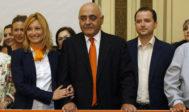 Cristina Gabarda y Vicente Vidal han alternado la portavocía en Ciudadanos-Castellón.