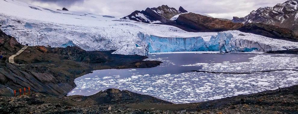 A Machu Picchu le sale un competidor en Perú: un increíble glaciar (aún) desconocido llamado Pastoruri