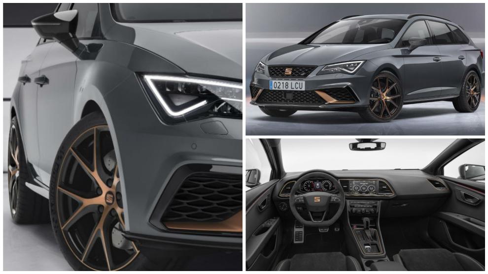 Seat León ST Cupra R: el compacto familiar con 300 caballos de potencia