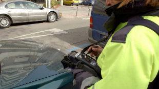 Descienden un 14% las multas de tráfico en Madrid en 2018