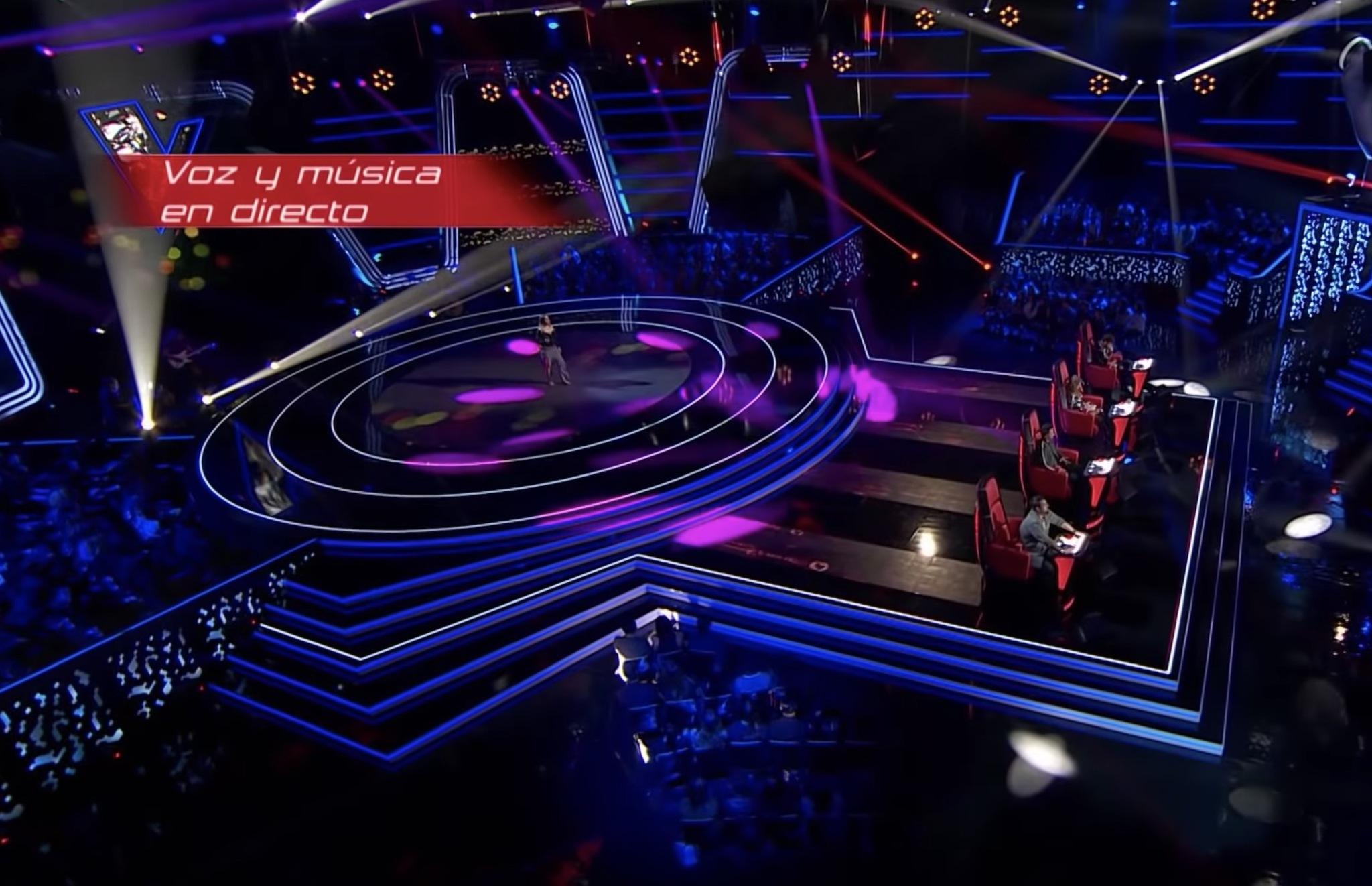 Viki Lafuente canta Piece of my heart en La Voz de Antena 3