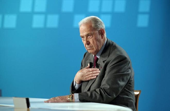 Charles Pasqua, ex ministro del Interior francés.