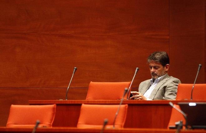 Oriol Pujol, en una comisión parlamentaria en una foto de archivo
