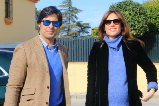 Francisco Rivera y Lourdes Montes en la última imagen antes de ser padres