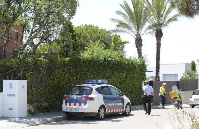 Una patrulla de los Mossos d'Esquadra en una imagen de archivo