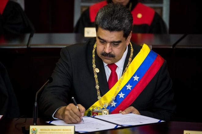 Mascarada de Maduro para perpetuarse