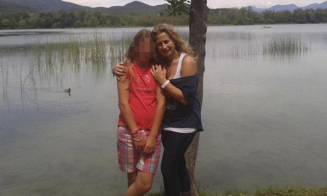 La presunta matricida y su madre, en Banyoles en una imagen de archivo