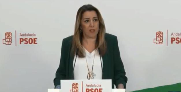 Andalucía: Susana Díaz Desafía A Ferraz Y Fía Su
