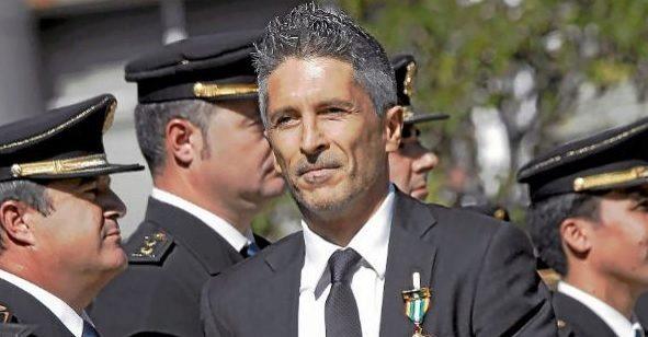 Fernando Grande-Marlaska, ministro de Interior, ante responsables de la Policía.