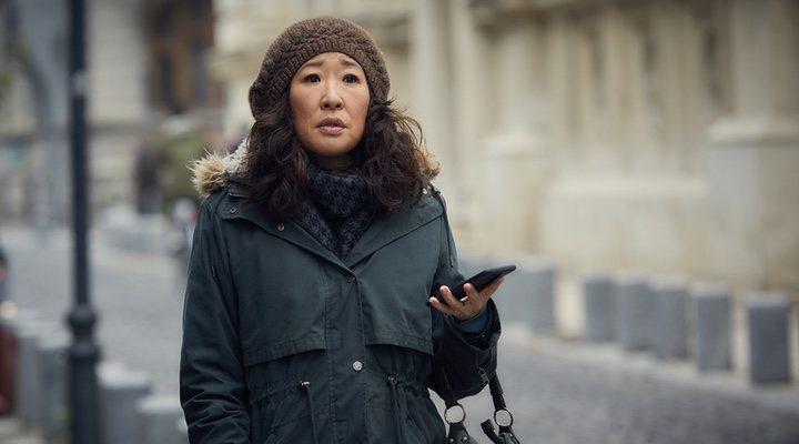 Fotograma de Killing Eve, protagonizada por Sandra Oh