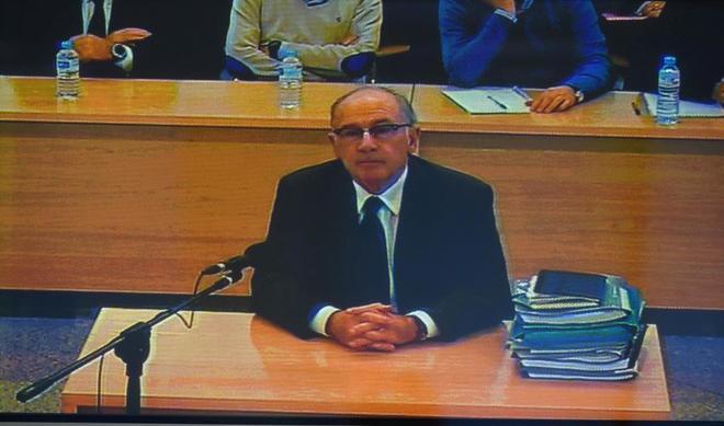 El ex presidente de Bankia Rodrigo Rato declara en la Audiencia Nacional.