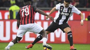Partido entre la Juventus y el AC Milan, el pasado mes de diciembre.