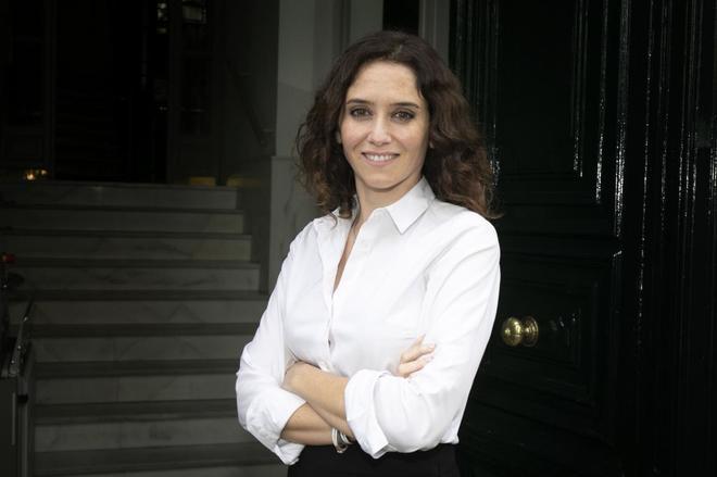 La candidata del PP al ayuntamiento de Madrid, Isabel Díaz Ayuso