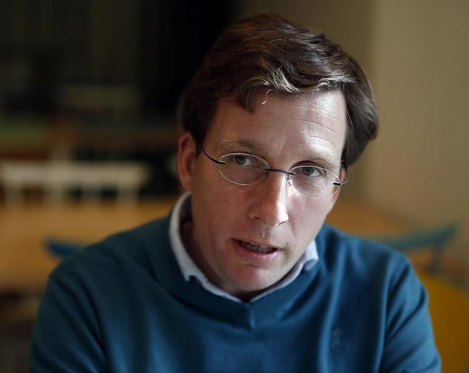 José Luis Martínez-Almeida, actual portavoz municipal del PP.