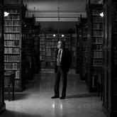 Pedro Álvarez de Miranda, académico de la RAE, fotografiado en sus...