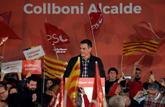 El presidente del Gobierno, Pedro Sánchez, durante el acto de...