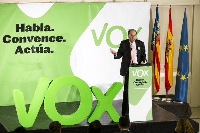 El ex candidato de Vox a las elecciones europeas de 2014, Alejo...