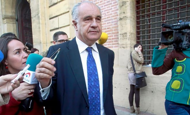 El ex conseller con Camps Rafael Blasco, en una imagen de archivo.