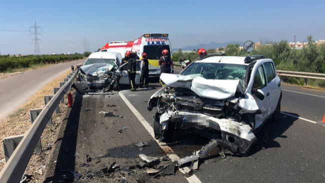 Castellón baja un 62% las muertes de tráfico con el carné por puntos