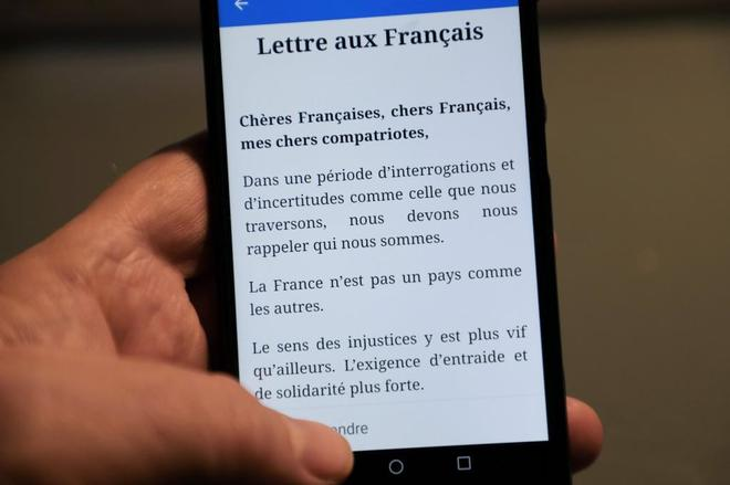 Macron escribe una carta a los franceses para lanzar el debate