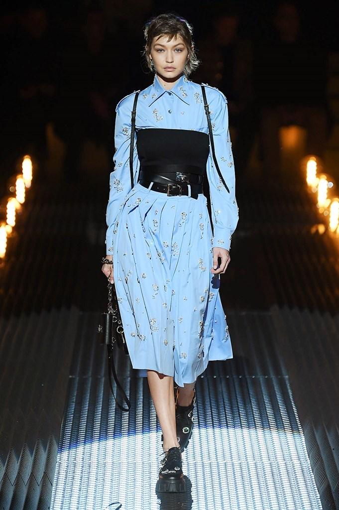 Desfile de Prada - Milan Mens Fashion Week - Otoño-invierno 2018/19