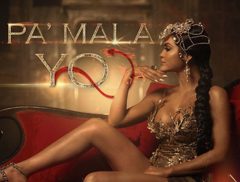 Imagen promocional de Pa' Mala Yo, la nueva canción de Natti Natasha