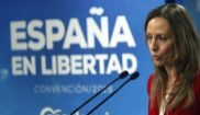 Marta González, vicesecretaria de Comunicación del PP, en rueda de...