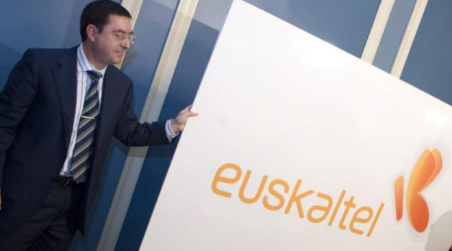 Alberto García Erauzkin, presidente de Euskaltel.