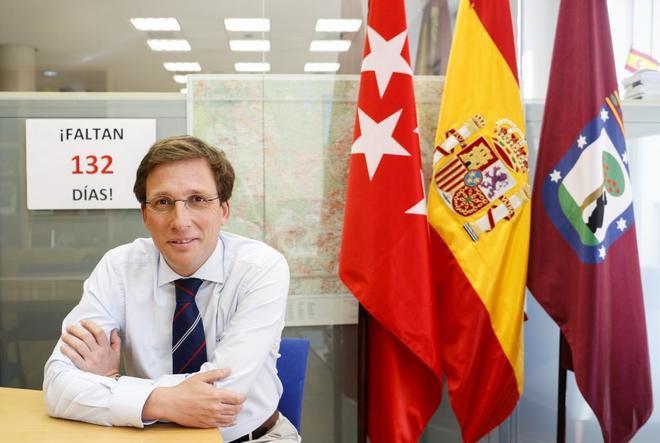 El candidato del PP al Ayuntamiento de Madrid, José Luis Martínez-Almeida.