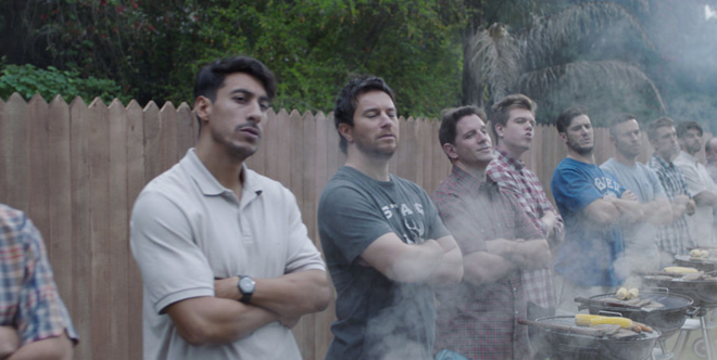 Fotograma del último anuncio de Gillette