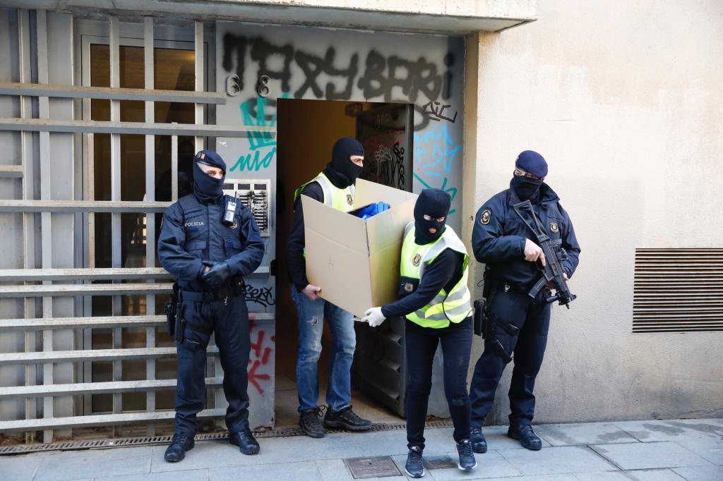 Jordi Soteras Catalunya Barcelona 15/01/2019 Detencion de un presunto...