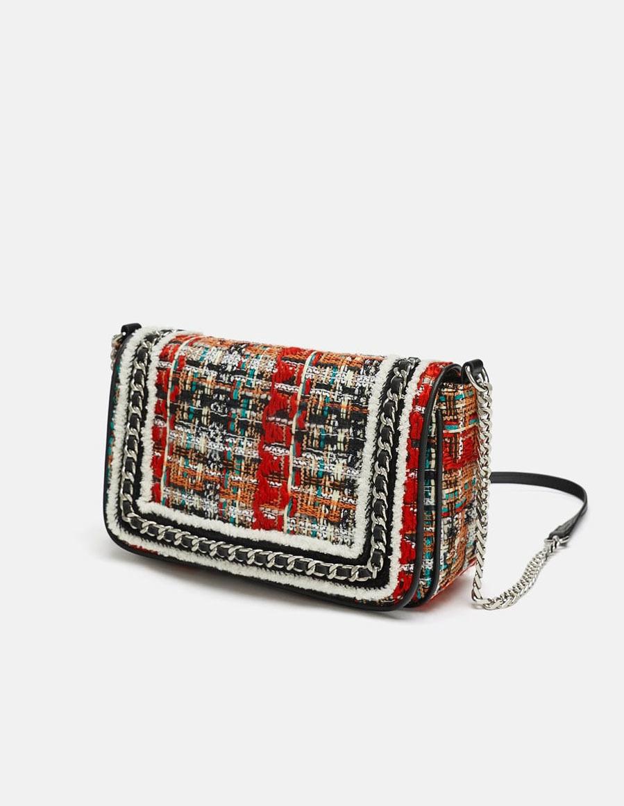 a278d51d6 Rebajas 2019: Bandolera de tweed multicolor, de Zara | Moda | EL MUNDO