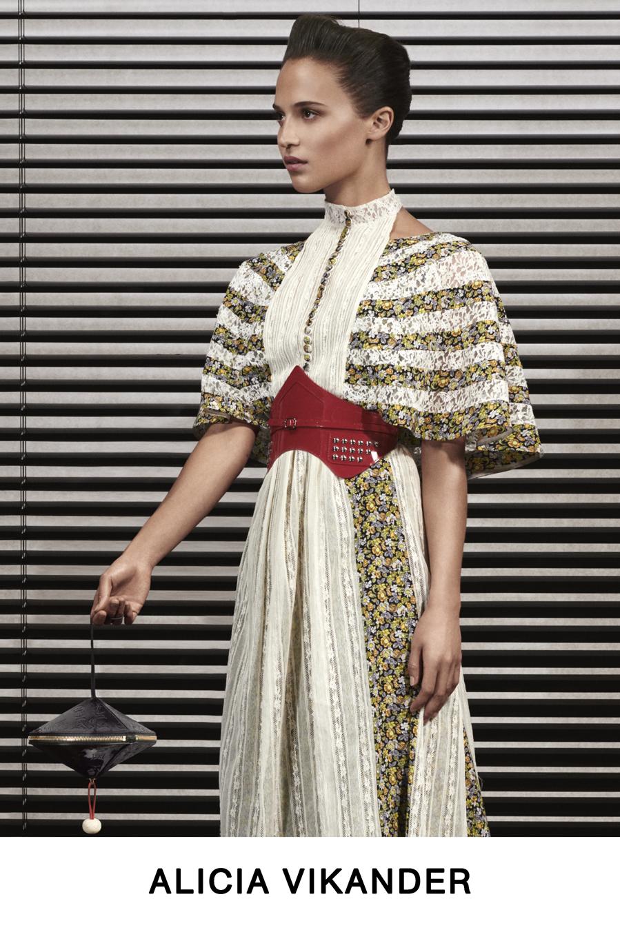 Alicia Vikander - Colección Pre-Fall 2019 de Louis Vuitton