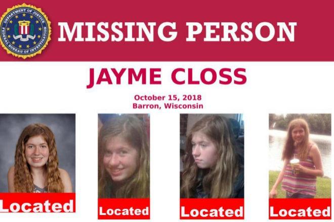 Cartel de 'Persona desaparecida' que se repartieron en octubre en...