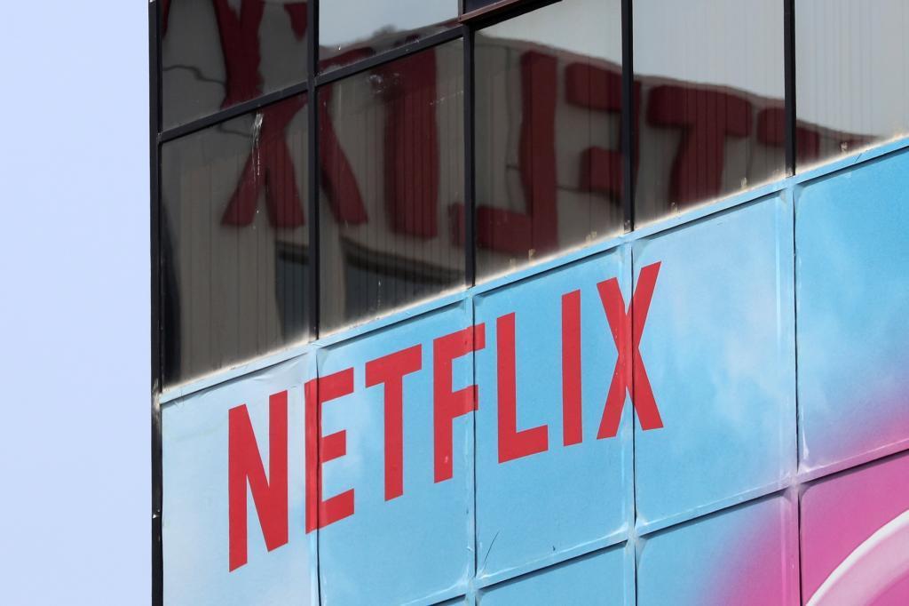 Oficina de Netflix en Los Ángeles.