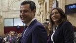 Juan Manuel Moreno Bonilla, presidente electo de la Junta de...