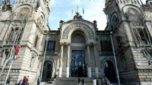 Edificio de la Audiencia de Barcelona.