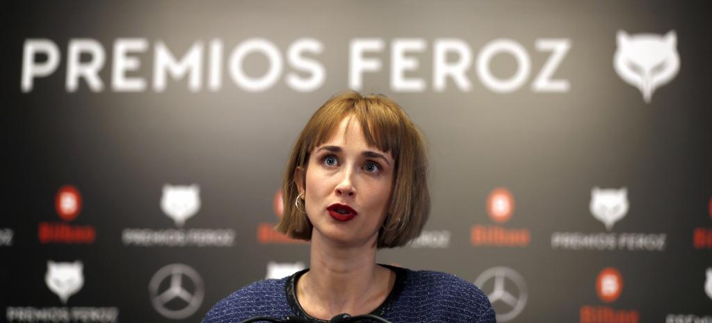 La actriz Ingrid Garcia-Jonsson, presentadora de la gala de los premios Feroz.