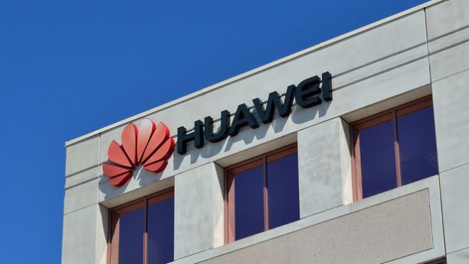La oficina de Huawei en EEUU