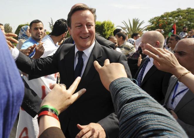 El ex primer ministro británico David Cameron.