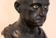 Busto de bronce de Escipión el Africano que se exhibe en el Museo Arqueológico Nacional de Nápoles.