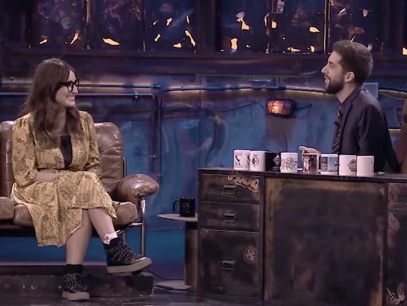 Ana Morgade en La Resistencia, presentado por David Broncano